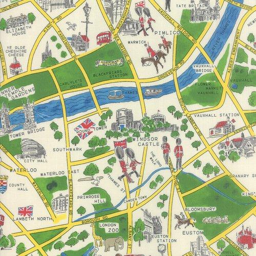 Passport London Map 301211-11