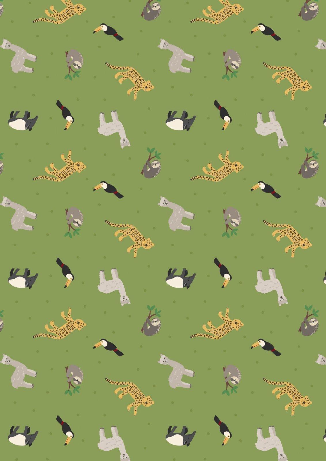 WORLD ANIMALS - S. AMERICAN SM26.2 RAINFOREST GREEN