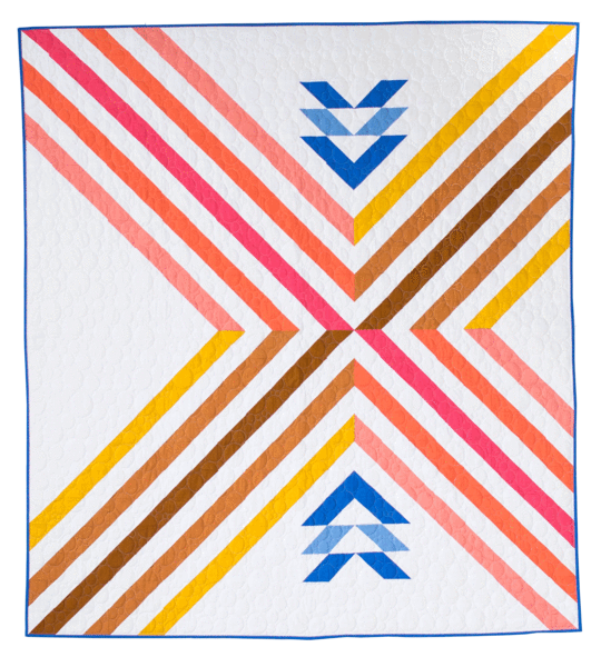 THEN CAME JUNE - STRIPE CROSSING QUILT