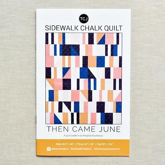 THEN CAME JUNE - SIDEWALK CHALK QUILT