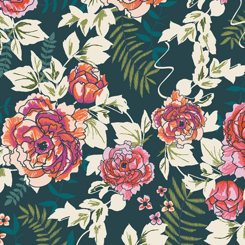 TROUVAILLE TRV-58120 everblooming camelieas aglow