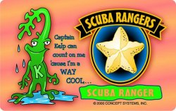 Scuba Rangers Card