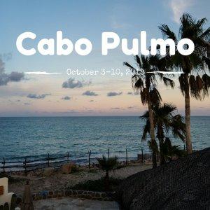 Cabo Pulmo October 3-10, 2015