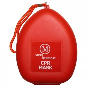 CPR Oronasal Resuscitation Mask with O2 Valve for Adult/Child