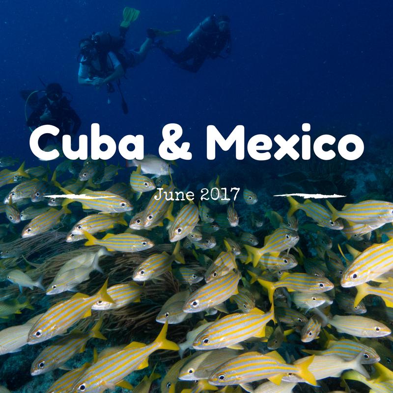 Cuba Mexico 2017