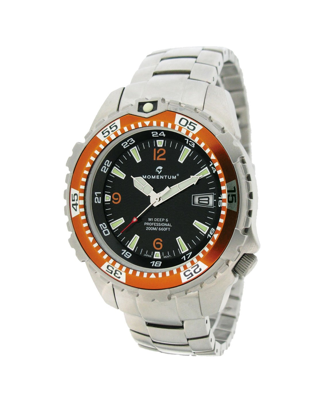 MOMENTUM Watch - Deep 6 Steel Orange