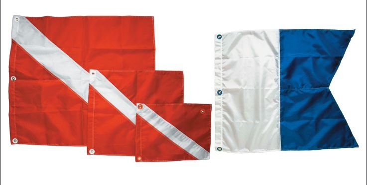 INNOVATIVE 31 x 36 Nylon Dive Flag
