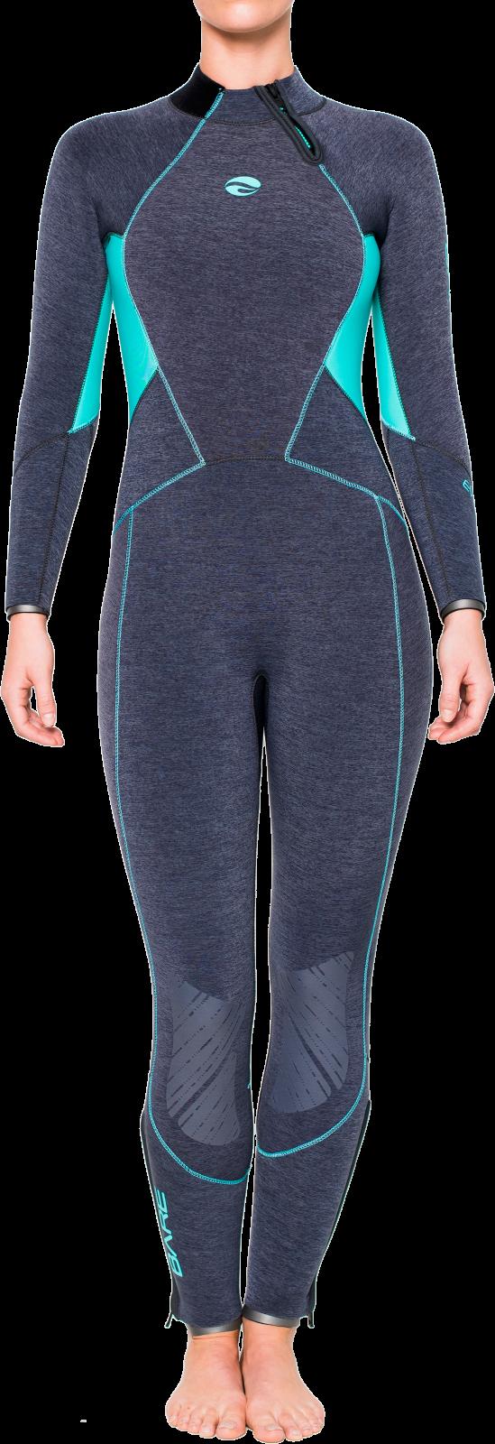 BARE Evoke Wetsuit: Women's 5mm Full Wetsuit - Backzip