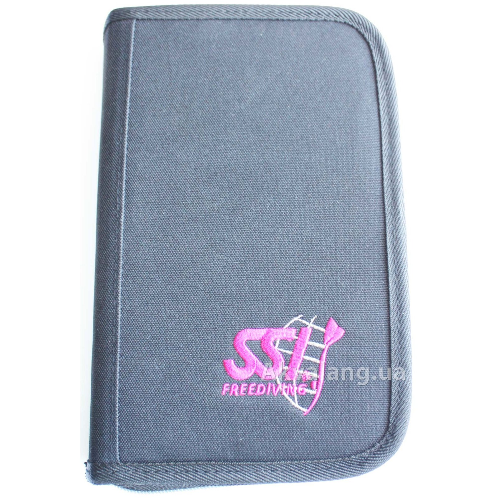 SSI Freediving Dive Log Zip Binder Black