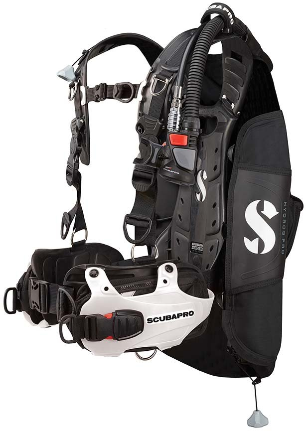 SCUBAPRO Women's Hydros Pro BCD w/ BPI (Balanced Power Inflator)