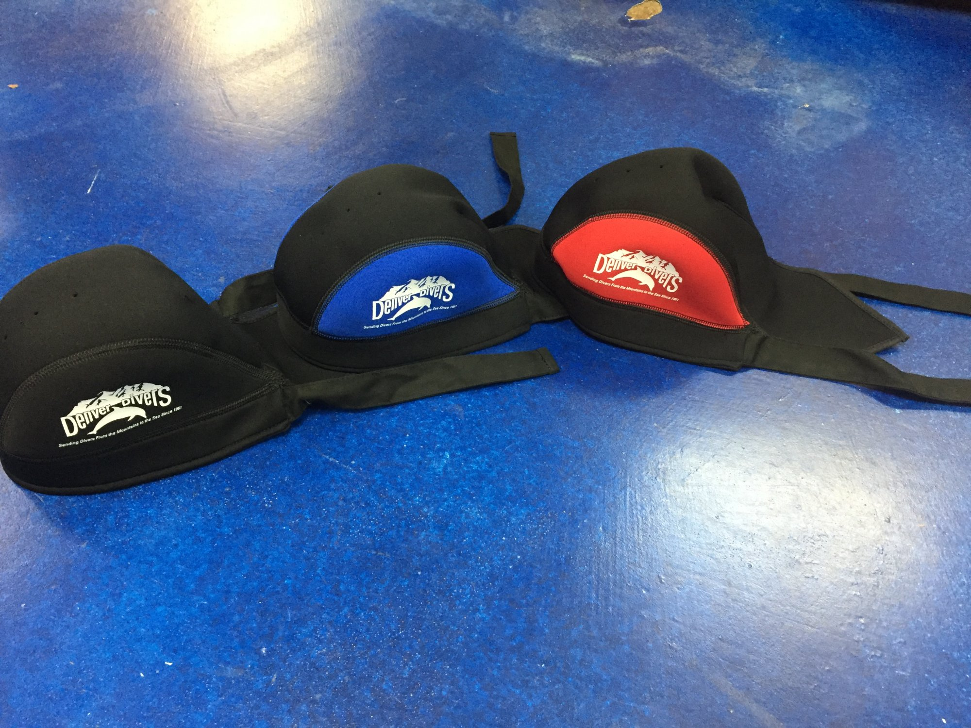 INNOVATIVE Neoprene Bandana Cap - Denver Divers Logo