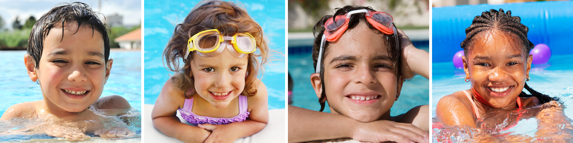 Learn to Swim: Four to Seven Years Old Banner