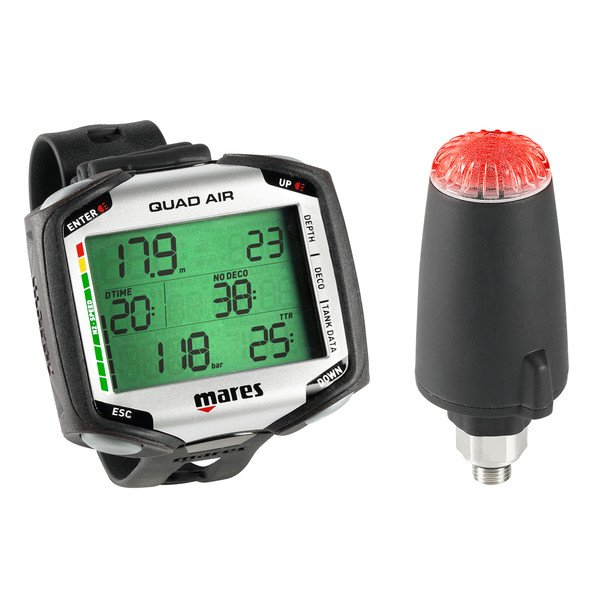 MARES Quad Air-Integrated Wrist Computer