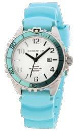 MOMENTUM Watch - M1 Mini With Aqua Rubber Band
