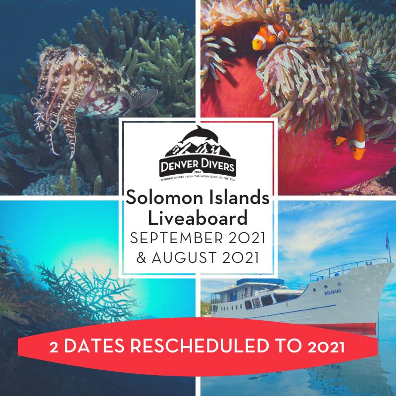 Solomon Islands Liveaboard 2021