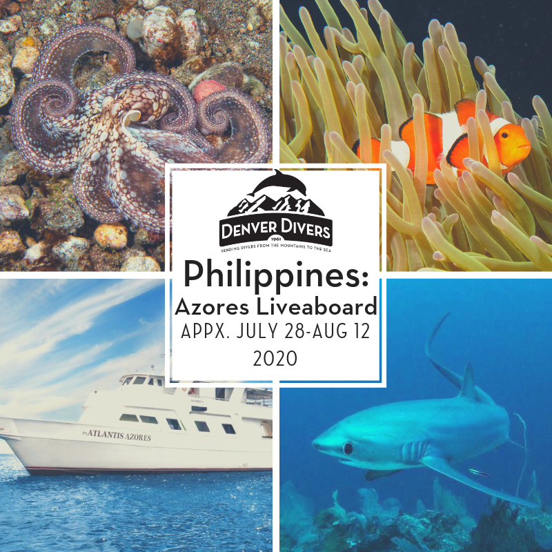 Philippines Azores Liveaboard 2020