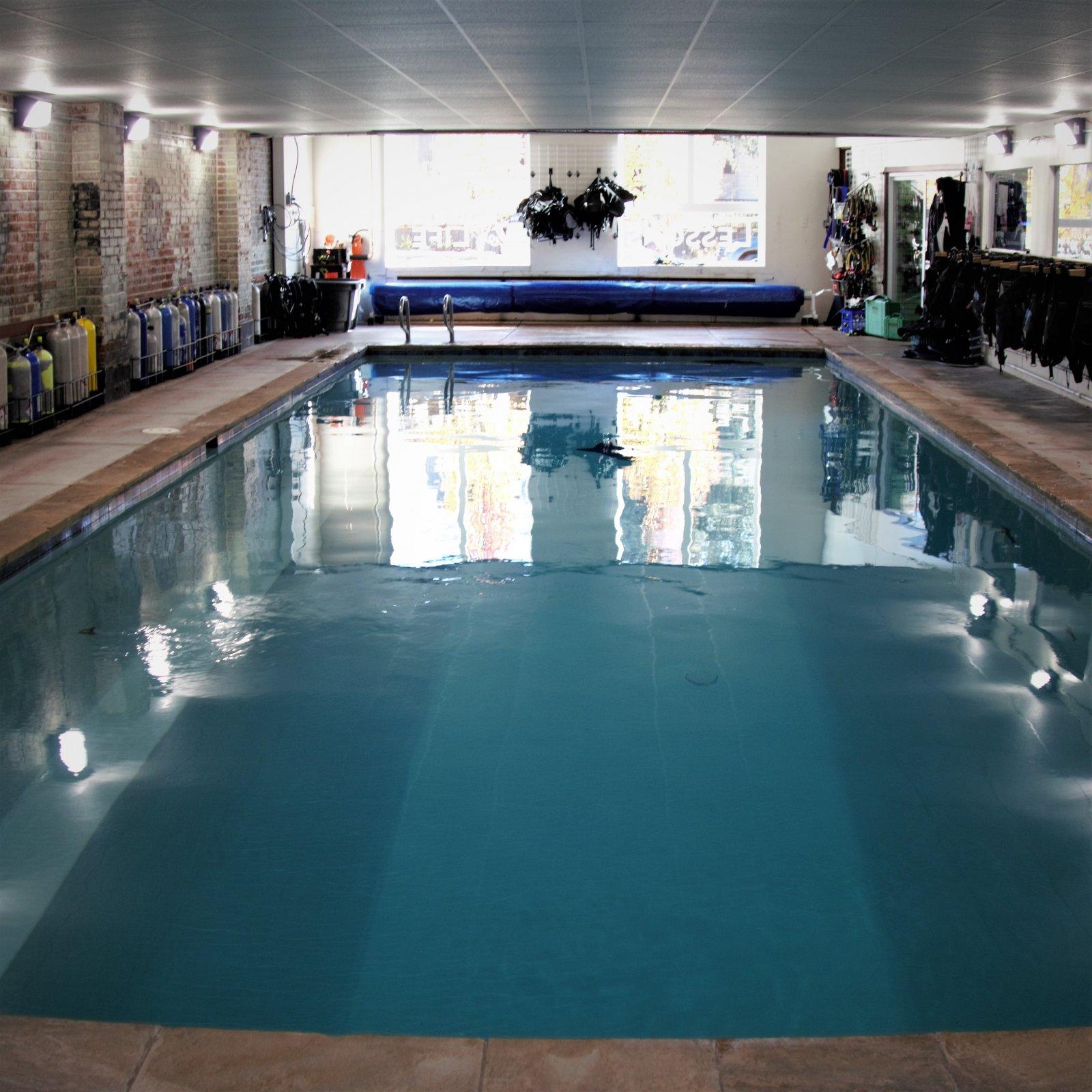 Pool at Denver Divers
