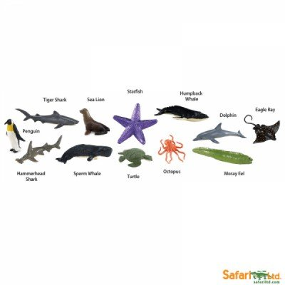 SAFARI Toobs Baby Sea Life