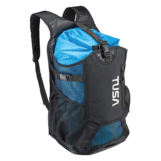 TUSA Mesh Backpack with Drybag (40L)