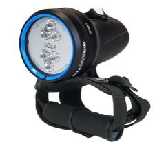 LIGHT & MOTION SOLA Dive 1200 Spot Black
