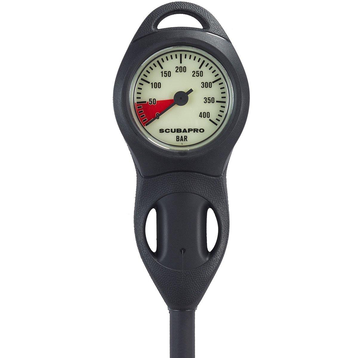 SCUBAPRO Single Pressure Gauge (U-line SPG)--Plastic Console