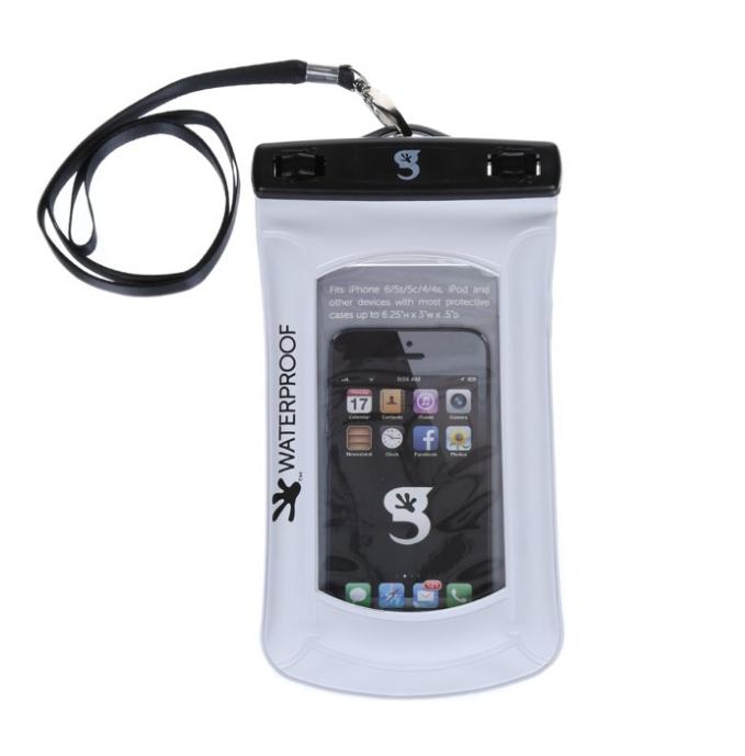 GECKOBRANDS Waterproof Submerge or Float Mobile Phone Dry Bag