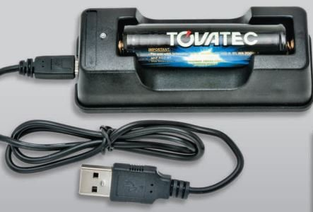 TOVATEC Lithium Ion Battery Charge Cradle