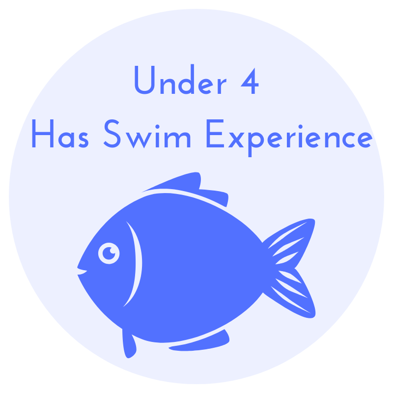 Under 4 YO With Swim Experience