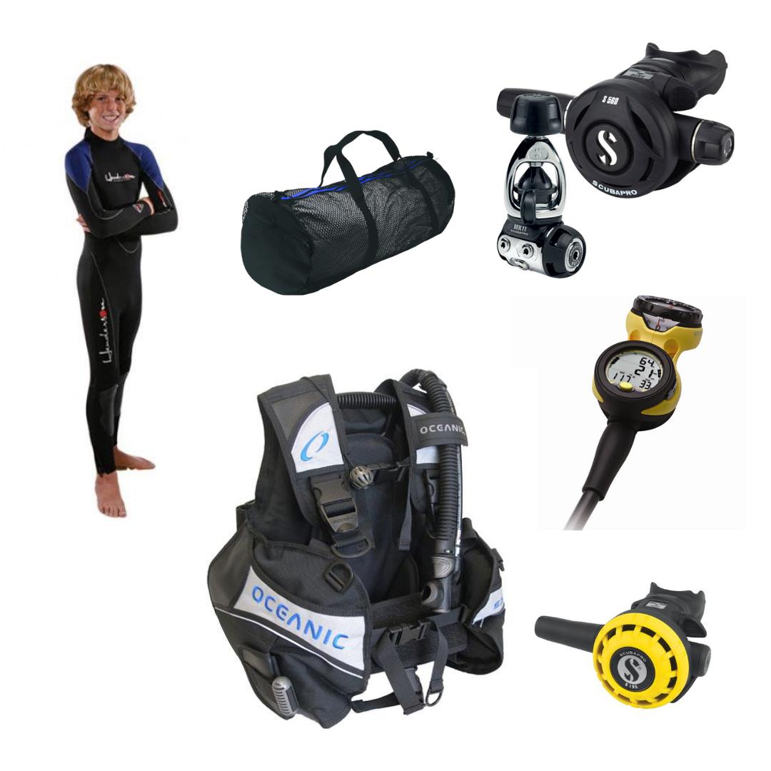 Junior Diver Image