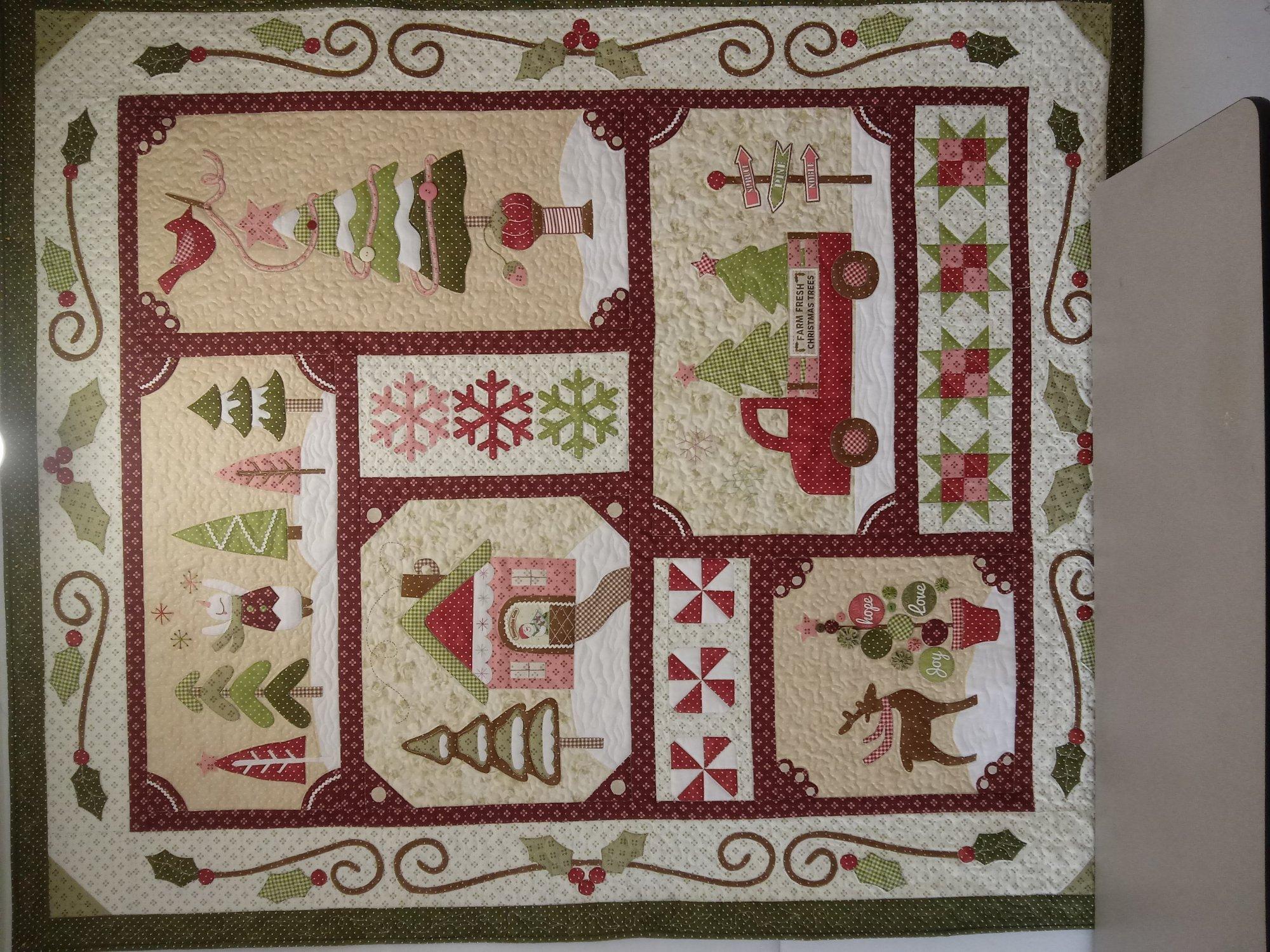 Sew Merry  Fabric  Kit