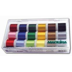 Madeira Embroidery Thread - 18 Spools