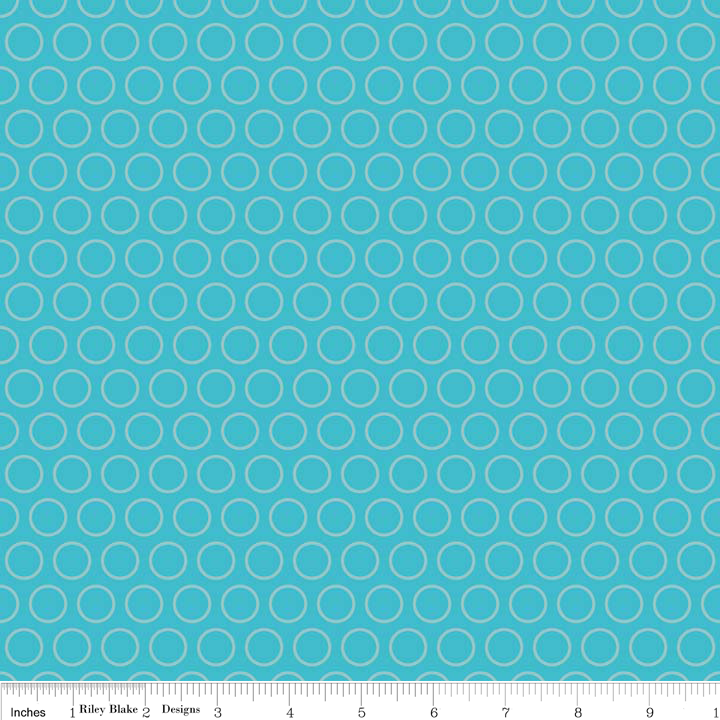 RB Just Dreamy 2- Circles Blue