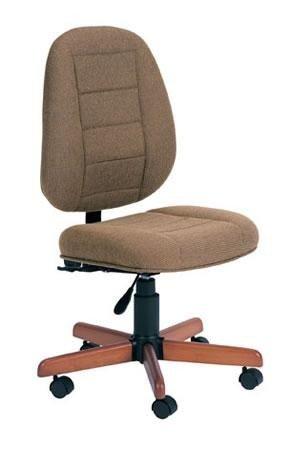 Koala Chair, Brazilian Cherry Base w/ Mocha Lt Brown