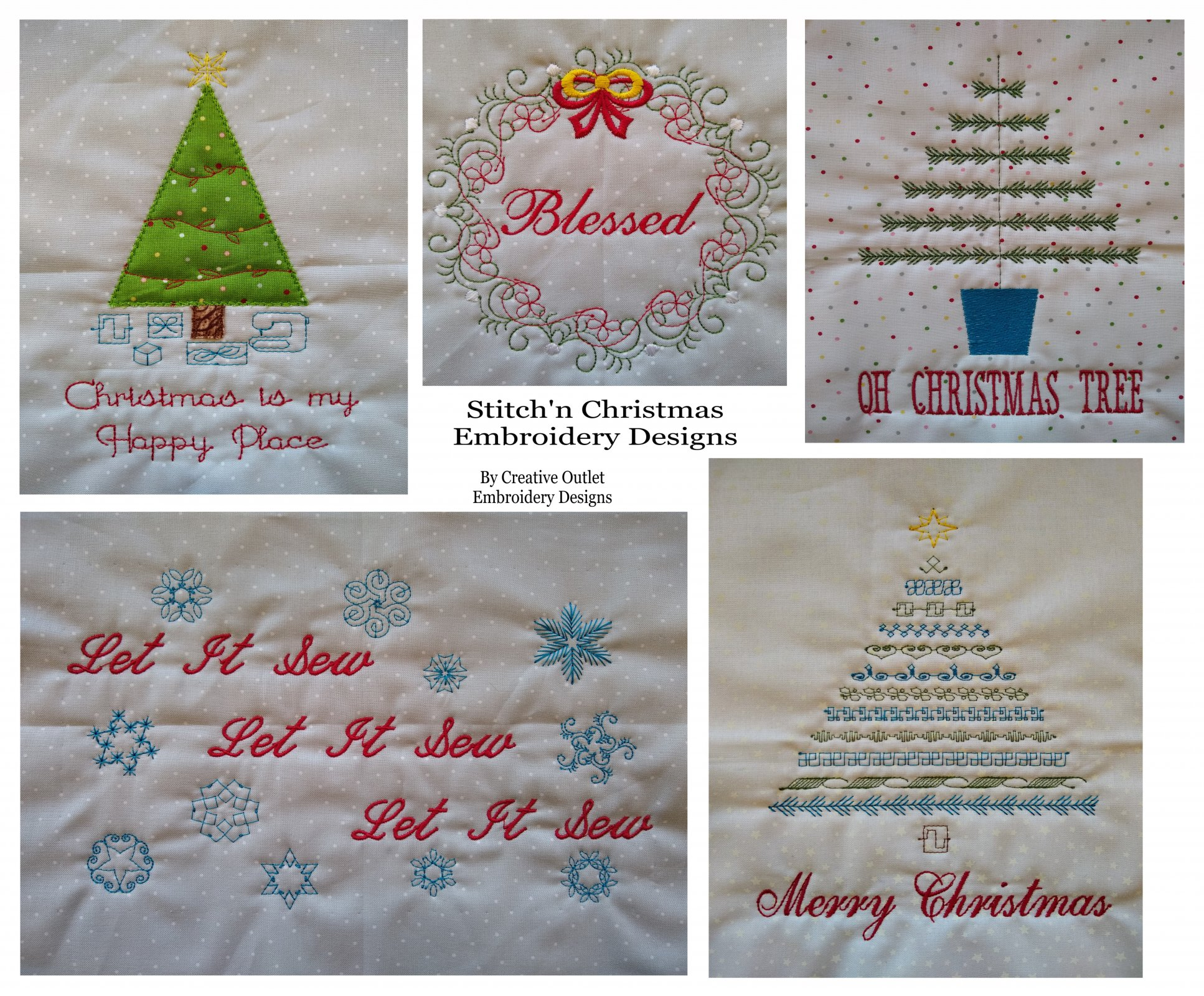 Stitch'n Christmas Embroidery Designs