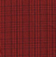 Homespun, red