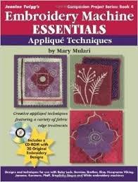 Embroidery machine essentials book 4 plus design CD