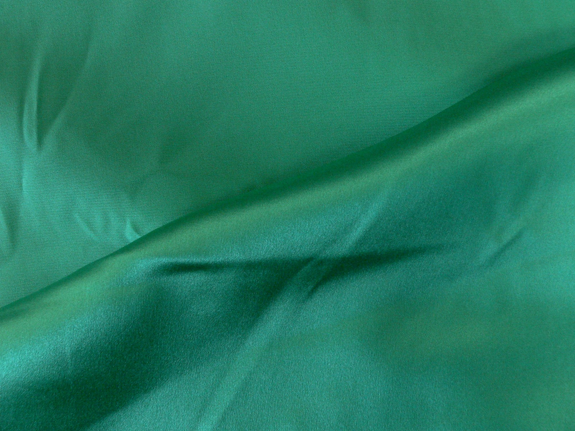 100% silk charmeuse, spring green