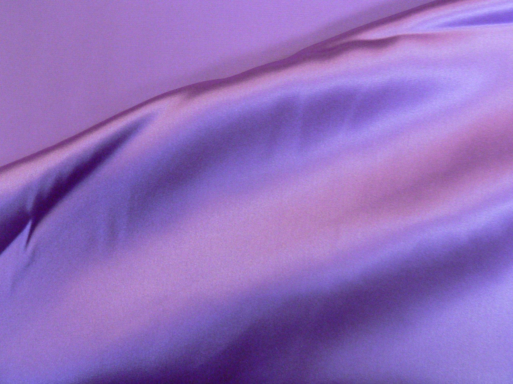 100% silk charmeuse, mauve
