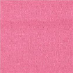 Cotton linen, suit weight, pink