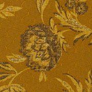 Autumn traditions, gold floral