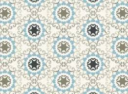 Andalusia small medallion print
