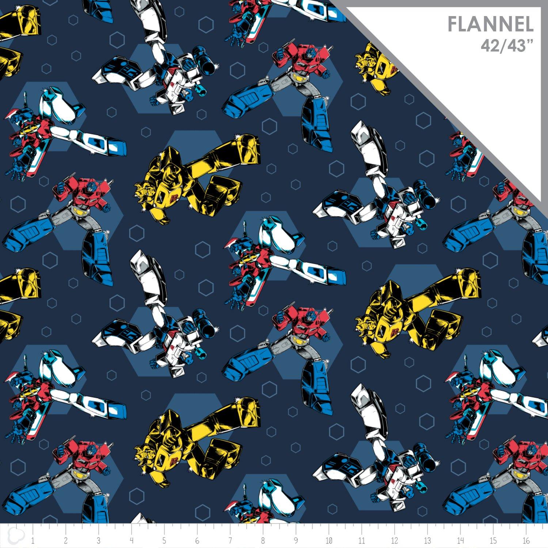 Transformers retro flannel