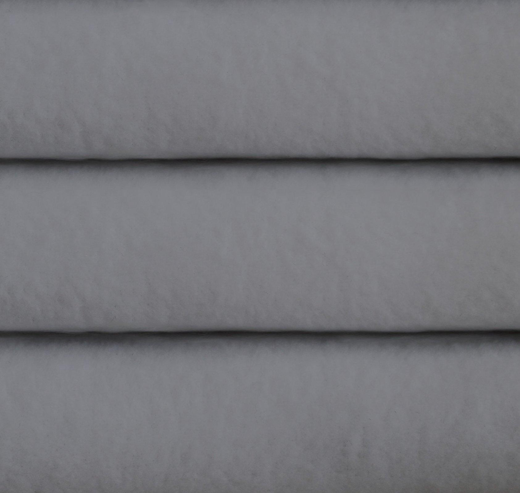 Polar fleece, anti pilling,  light grey solid