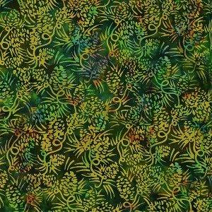 Forest green batik