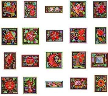 Mola appliques 1 CD ART format