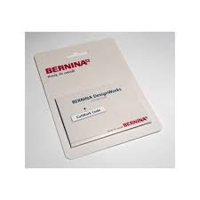 Bernina cutwork code card