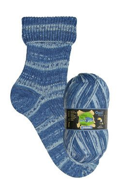 Opal sock yarn, Rainforest, Zuckerbaby