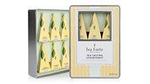 Tea tasting assortment classic, 6 handcrafted silken tea infusers