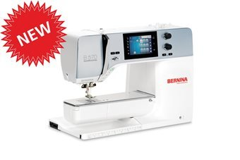 Bernina 570QE, machine only, NEW model