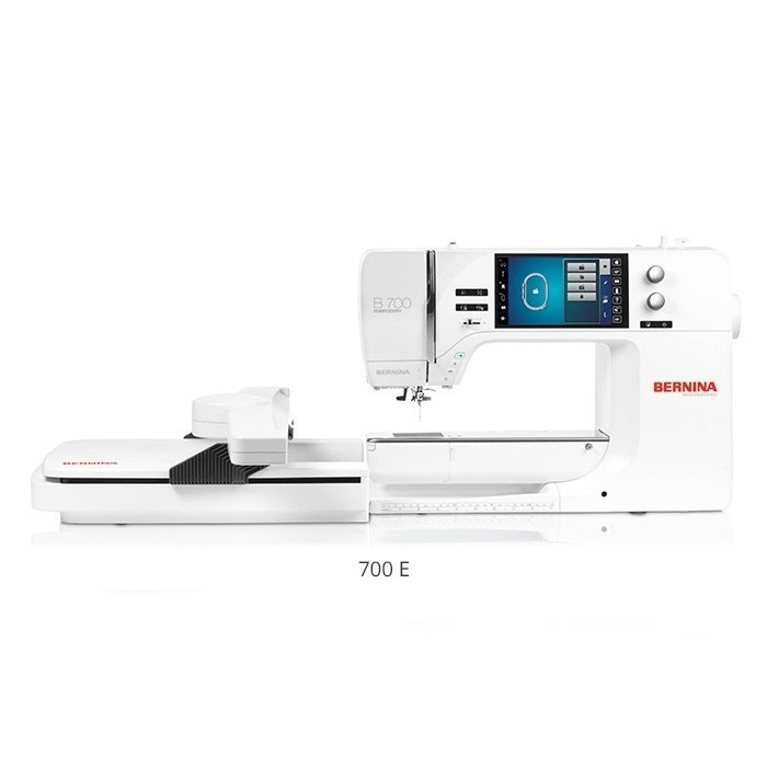 Bernina 700E, machine and embroidery module